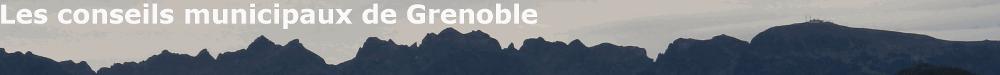 Conseils municipaux de Grenoble